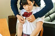 Japanese av schoolgirl fucked in exhange for grades  Photo 1