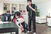 Japanese av schoolgirl delights with teacher's cock  Photo 11