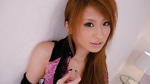 Stunning babe, Yuzu Shiina, boned deep and cum-filled