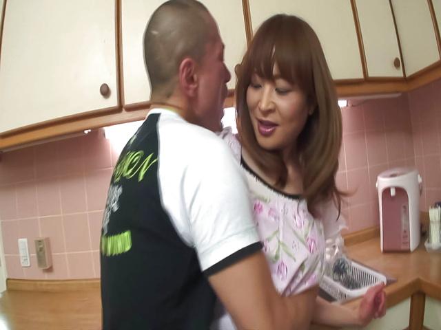 Sexy wife Hikaru Wakabayashi hard fucking Photo 3