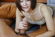 Japanese av beauty hard fucked and creamed on pussy  Photo 6