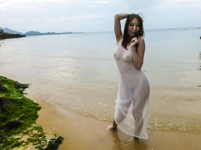Ruka Ichinoseoutdoor Asian amateur video Photo 5