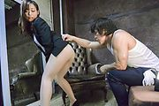 Superb Japanese av doll tries perfect cock in her snatch  Photo 2