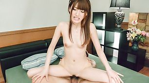 Perfect porn scenes along av star, Karin Aizawa