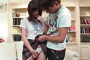 Appealing Japan av schoolgirl, naughty sex on cam  Photo 1