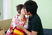Creampied japanese av star Nozomi Hazuki fucked Photo 4