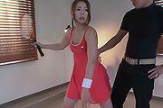 テニスコスチュームで輪姦AVプレイ Photo 2