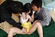 Megumi Shino Gets DPed And An Anal Creampie Photo 9