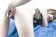 Japanese av model banged in her tiny ass  Photo 8
