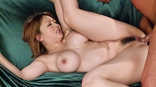 Big tits japanese av model having a good fuck