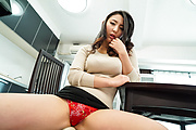 Voluptuous Japanese av beauty, Yuri Honma, enjoys sex  Photo 2