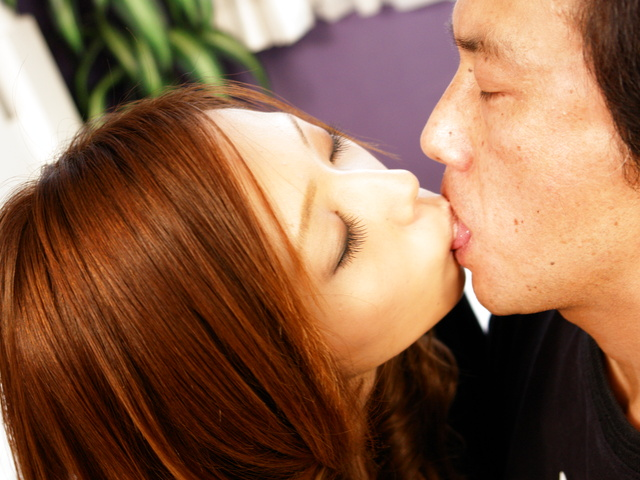 Asian girlfriend Misa Tsuchiya into some messy cunt banging Photo 4