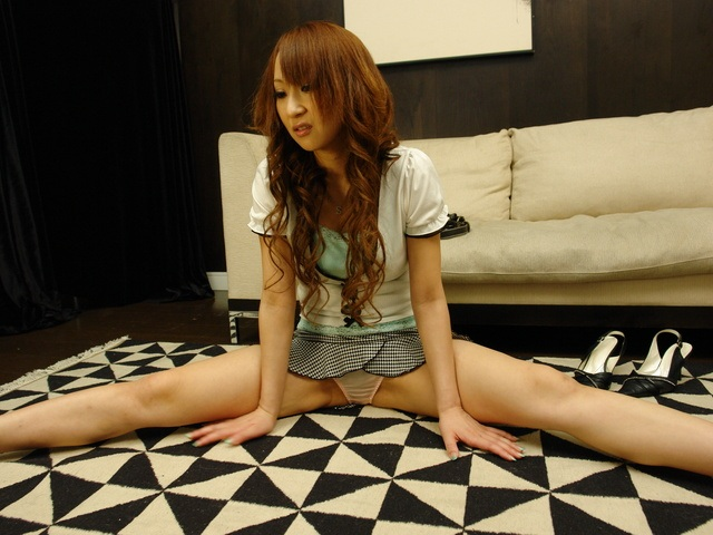 Naughty babe giving a rough blow job and bending over for penetration Photo 2