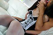 Japanese av girl Kotomi Asakura gets pounded in stockings Photo 4