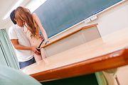 Horny slim av girl Mai Shirosaki fucked in class Photo 11