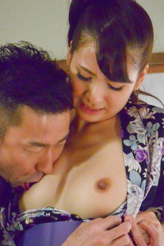 Asian blow job with steamy model, YuiOba Photo 6