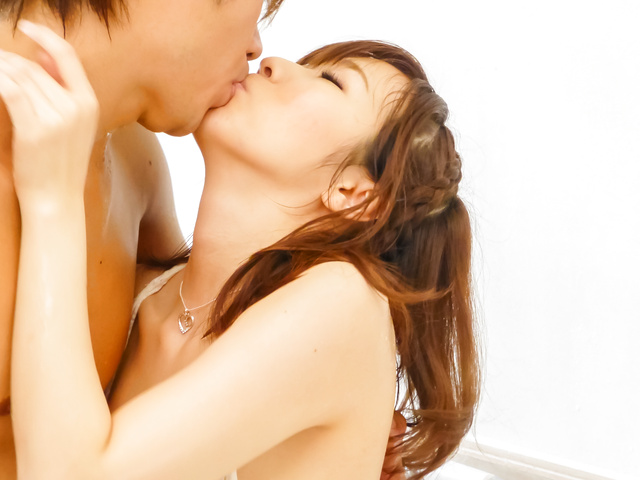 Japanese wife fucked bad and creamed on pussy Photo 9