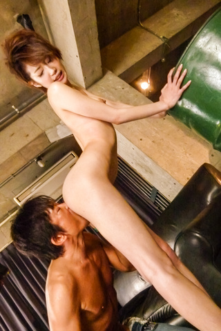 Sex in three along horny Japanese av modelMakoto Yuukia Photo 2