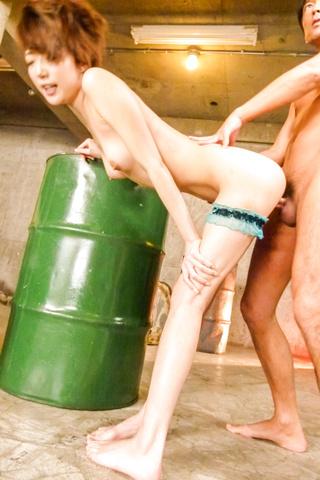 Sex in three along horny Japanese av modelMakoto Yuukia Photo 7