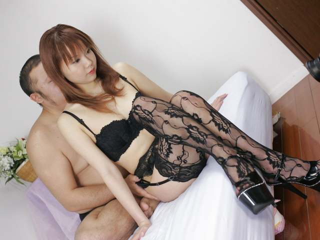 Busty Himena Ebihara In Lingerie Gets A Creamed Pussy Photo 6