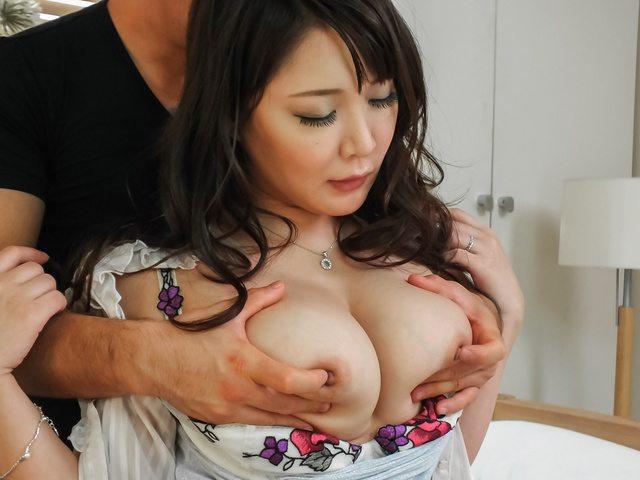 Asian anal hardcore with bustyHinata Komine Photo 3