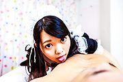Japanese avbabe,Hikaru Morikawa, pleases her master Photo 1
