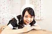 Japanese avbabe,Hikaru Morikawa, pleases her master Photo 4