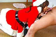 Anna Watase in Santa costume fucked hardcore Photo 6
