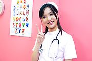 Nurse cosplay Rio Nakamura pretty girl banged Photo 6