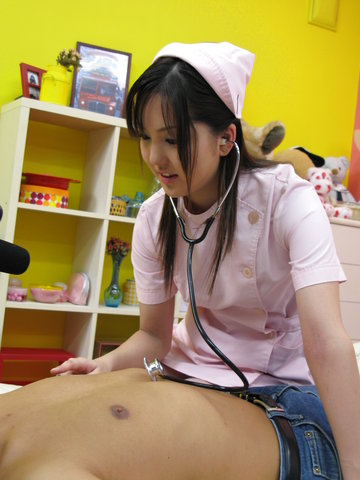 Nurse cosplay Rio Nakamura pretty girl banged Photo 11