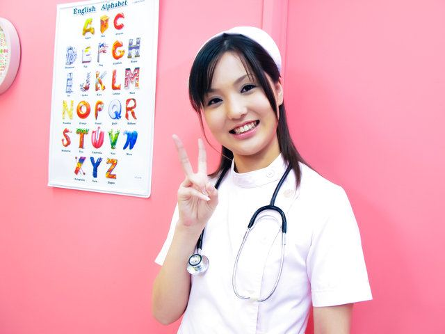 Lovely nurse Rio Nakumara makes it all better for horny cock Photo 6