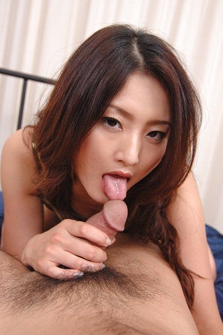Risa in a blowjob, titfuck, feetjob and cock riding action Photo 9