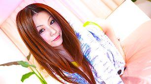 JAV Beauty Rina Koizumi Fucked in Sexy Yellow Bikini