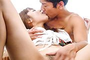 Rough sex scenes along horny av star, Anri Sonozaki Photo 7