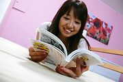 Big titted japanese av girl banged and given a facial Photo 2