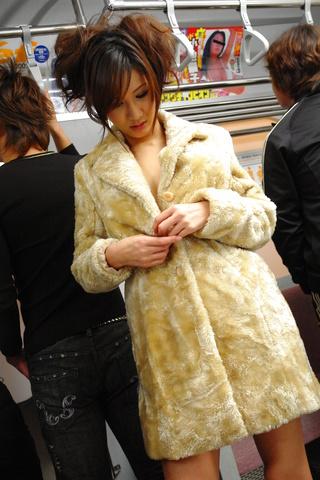 Asian Asami Yoshikawa fucked hard in a public railway Photo 2