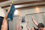 Japanese av teen pumped in serious gangbang Photo 10