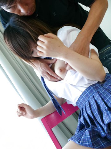 Miku Airi's Skirt Lifted Up To Get Pounded Photo 5
