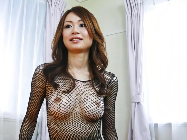 Net lingerie hot body gets nailed Sara Seori Photo 2