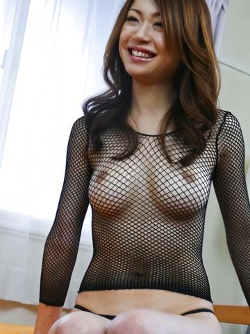 Net lingerie hot body gets nailed Sara Seori Photo 3