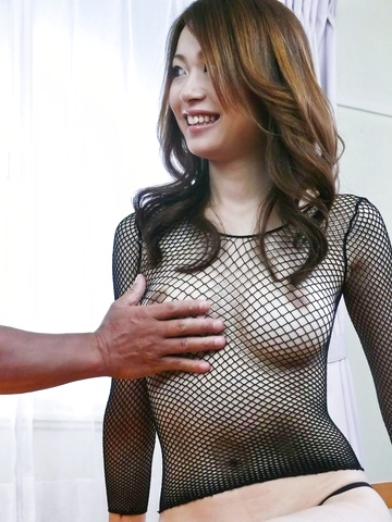 Net lingerie hot body gets nailed Sara Seori Photo 4