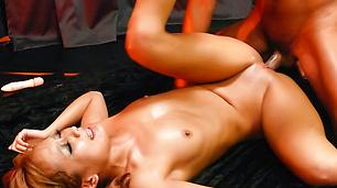 MILF japanese av star Kyoko gets a creampie