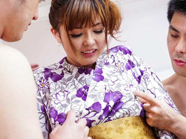 Asian creampie ending for adorable Ai Suzuki Photo 1