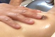 Young Miriya Hazuki lotion petite body ramed by hard dick Photo 7