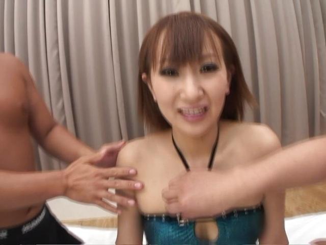 Sandwich double penetration fucking Anna Mizukawa Photo 6
