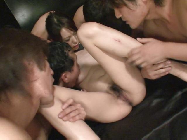 Gangbang multiple creampie with Rino Asuka Photo 5