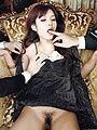 Mei Haruka pretty and petite handles two cocks Photo 7