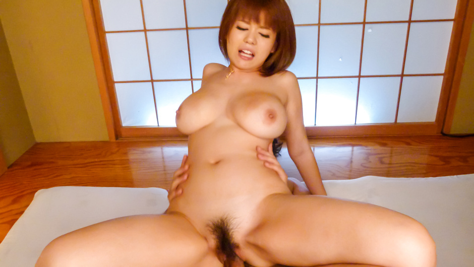 Hot Japanese av beauty fucked by two males