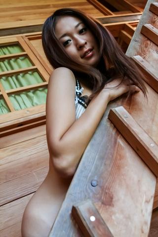 Risa Misaki provides steamy Asian blowjob in threesome Photo 2