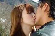 A rough fuck for a busty japanese av girl Photo 5